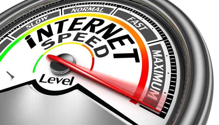 اتصال اینترنت و سرعت اینترنت
