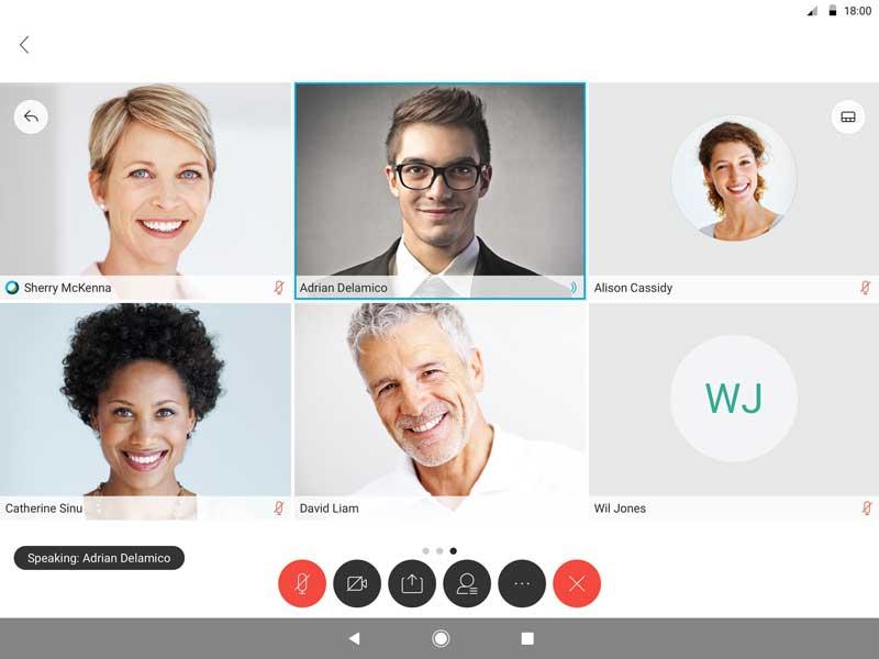 ویدیو کنفرانس - وب کنفرانس - جلسات آنلاین - Cisco Webex