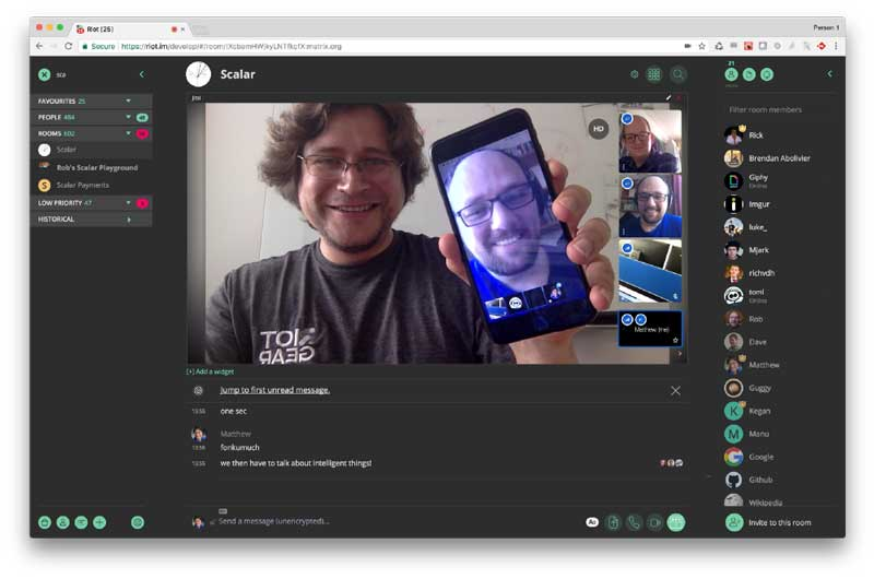 ویدیو کنفرانس - وب کنفرانس - جلسات آنلاین -Jitsi