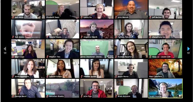 ویدیو کنفرانس - وب کنفرانس - جلسات آنلاین - zoom